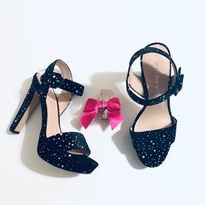 🆕 Madden Girl  | Velvet Sparkle Heels